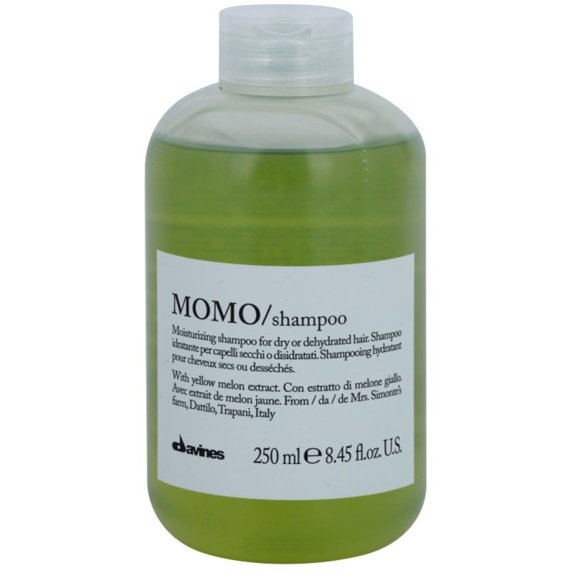 davines momo yellow melon moisturizing shampoo for dry hair. Black Bedroom Furniture Sets. Home Design Ideas