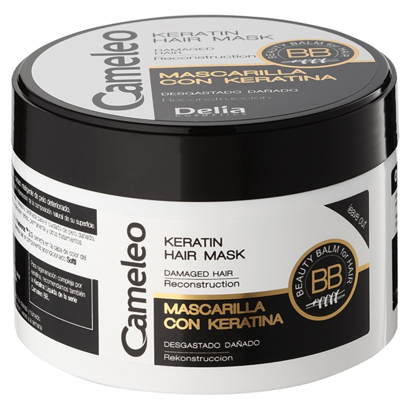 delia cosmetics cameleo bb masque la k ratine pour cheveux ab m s. Black Bedroom Furniture Sets. Home Design Ideas