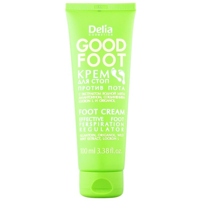 delia cosmetics good foot fusscreme gegen berm iges schwitzen. Black Bedroom Furniture Sets. Home Design Ideas