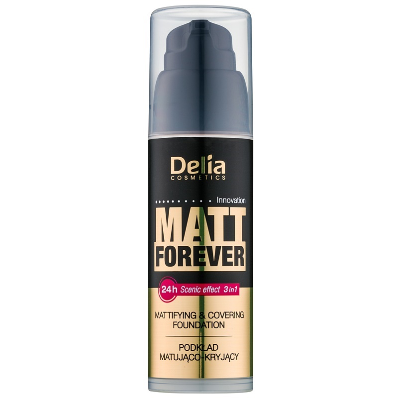 delia cosmetics matt forever leichtes make up. Black Bedroom Furniture Sets. Home Design Ideas