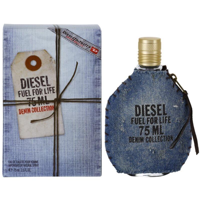diesel fuel for life homme denim eau de toilette pentru barbati 75 ml. Black Bedroom Furniture Sets. Home Design Ideas