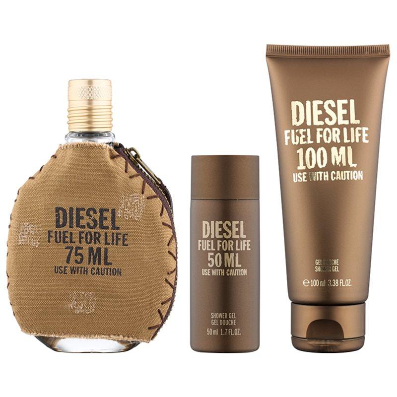 diesel fuel for life homme gift set ii. Black Bedroom Furniture Sets. Home Design Ideas