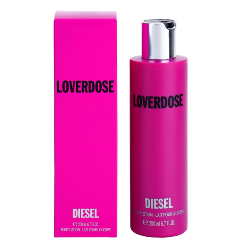 diesel loverdose loverdose k rperlotion f r damen 200 ml. Black Bedroom Furniture Sets. Home Design Ideas