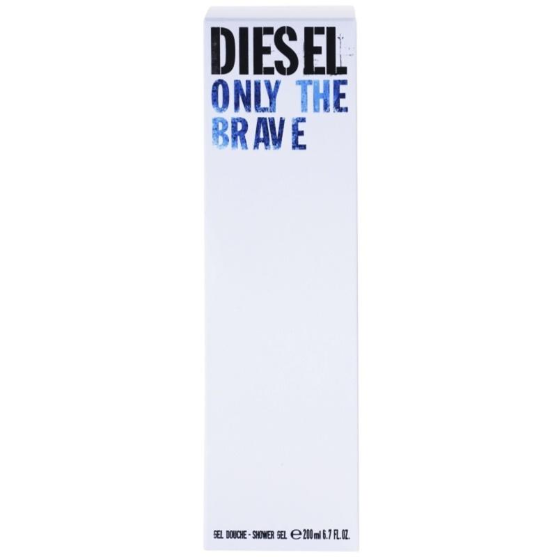 diesel only the brave shower gel for men 200 ml. Black Bedroom Furniture Sets. Home Design Ideas
