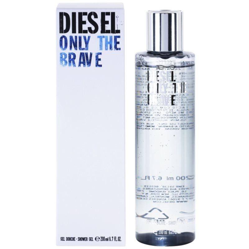 diesel only the brave only the brave shower gel for men 200 ml. Black Bedroom Furniture Sets. Home Design Ideas