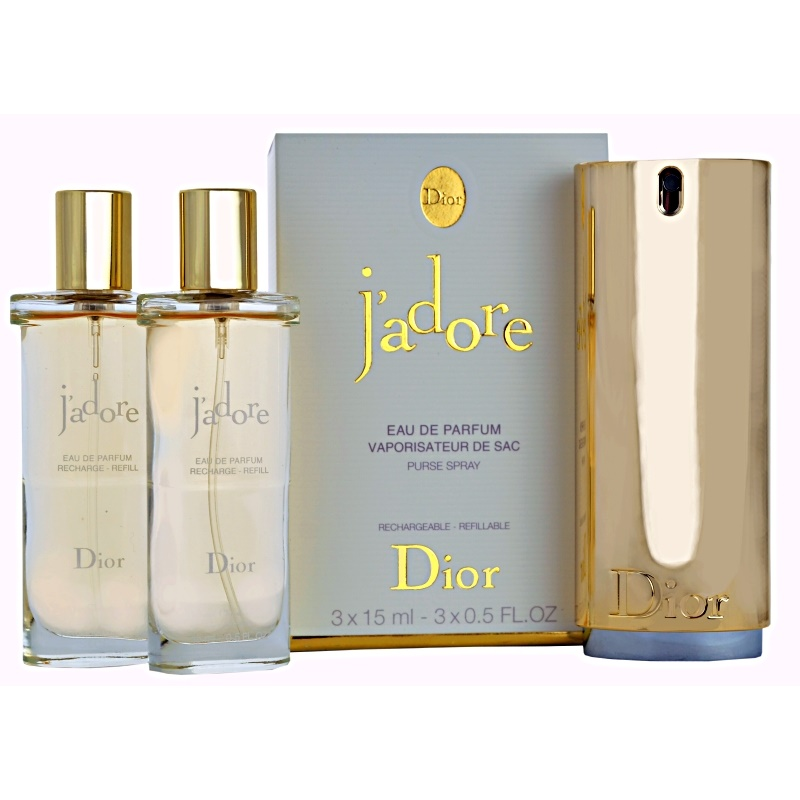 dior j 39 adore eau de parfum f r damen 3 x 15 ml ersatzf llung. Black Bedroom Furniture Sets. Home Design Ideas