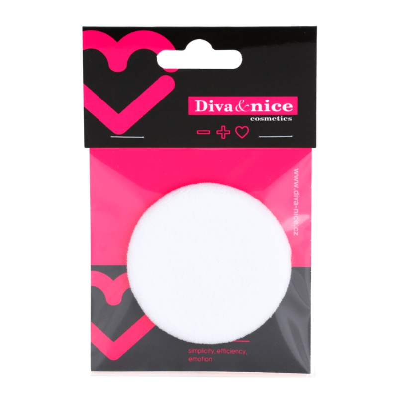 Diva nice cosmetics accessories puf pentru pudra - Diva nice cosmetics accessories ...