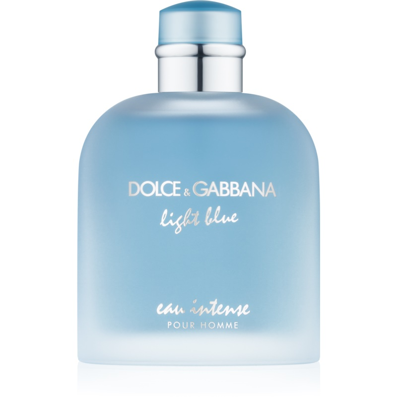 dolce gabbana light blue eau intense pour homme eau de parfum for men 100 ml. Black Bedroom Furniture Sets. Home Design Ideas