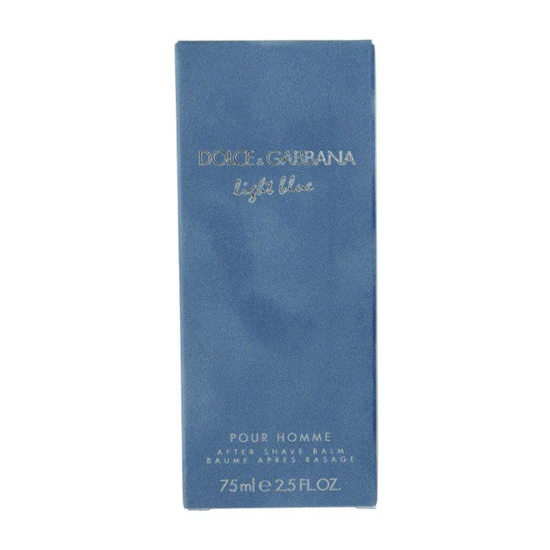 dolce gabbana light blue pour homme after shave balsam