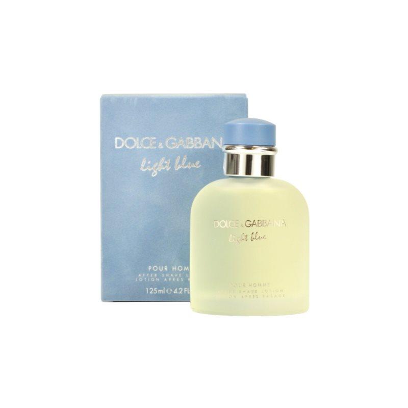 dolce gabbana light blue pour homme after shave f r. Black Bedroom Furniture Sets. Home Design Ideas