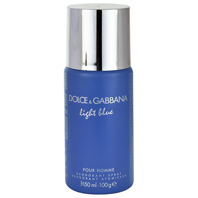 dolce gabbana light blue pour homme deo spray f r. Black Bedroom Furniture Sets. Home Design Ideas