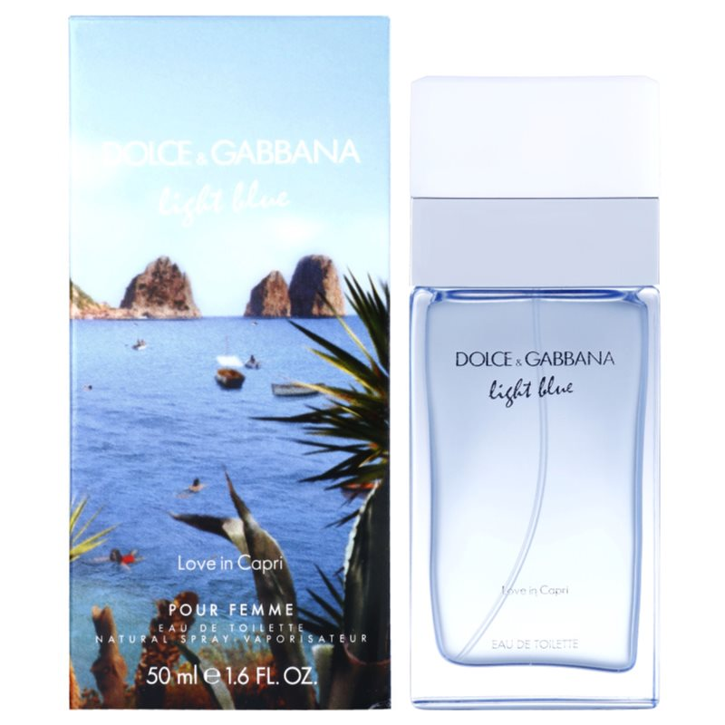Dolce Amp Gabbana Light Blue Love In Capri Eau De Toilette