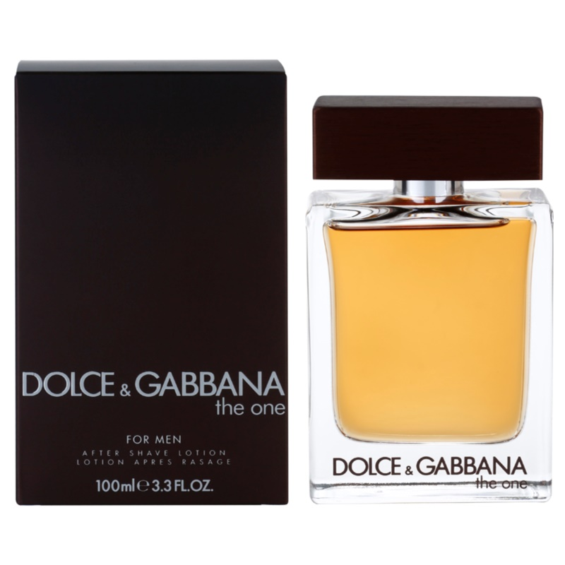 dolce gabbana the one for men lotion apr s rasage pour homme 100 ml. Black Bedroom Furniture Sets. Home Design Ideas