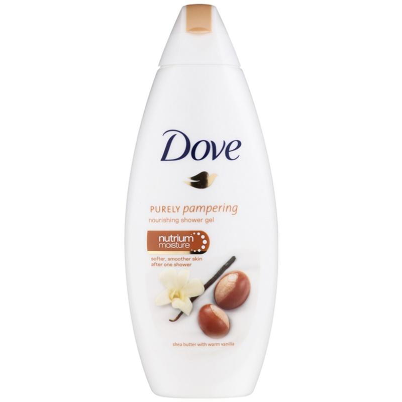 DOVE PURELY PAMPERING SHEA BUTTER Nourishing Shower Gel
