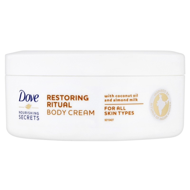 dove nourishing secrets restoring ritual body cream. Black Bedroom Furniture Sets. Home Design Ideas