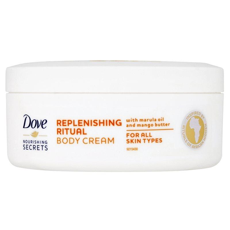 dove nourishing secrets replenishing ritual body cream. Black Bedroom Furniture Sets. Home Design Ideas