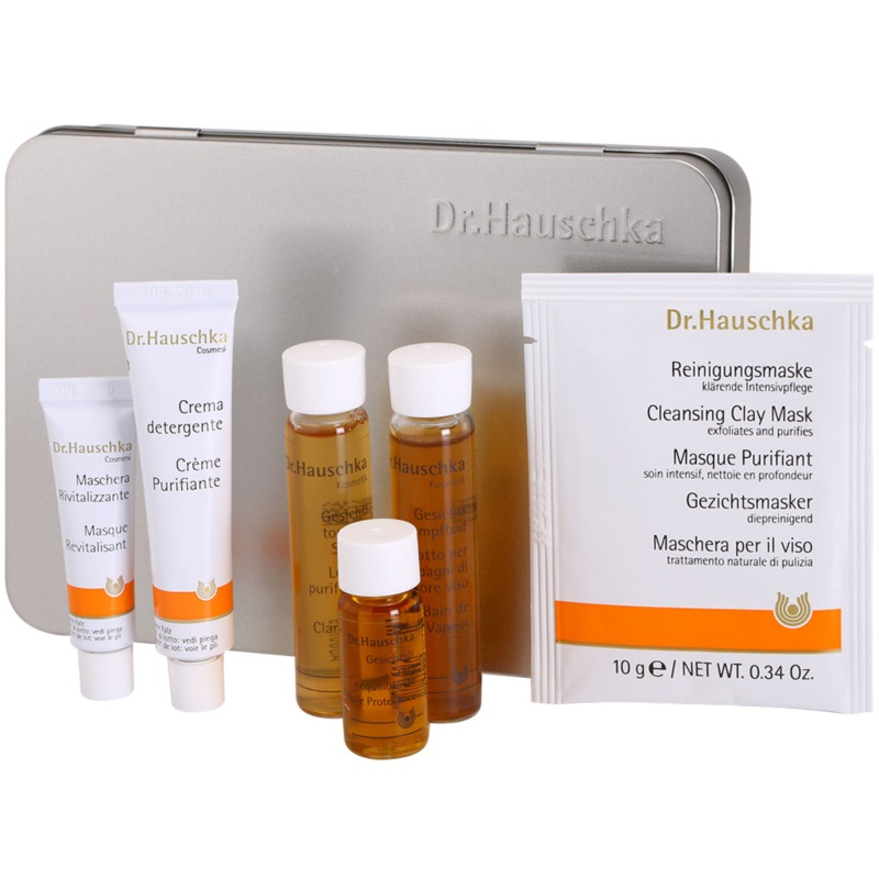 dr hauschka facial care kosmetik set ii. Black Bedroom Furniture Sets. Home Design Ideas