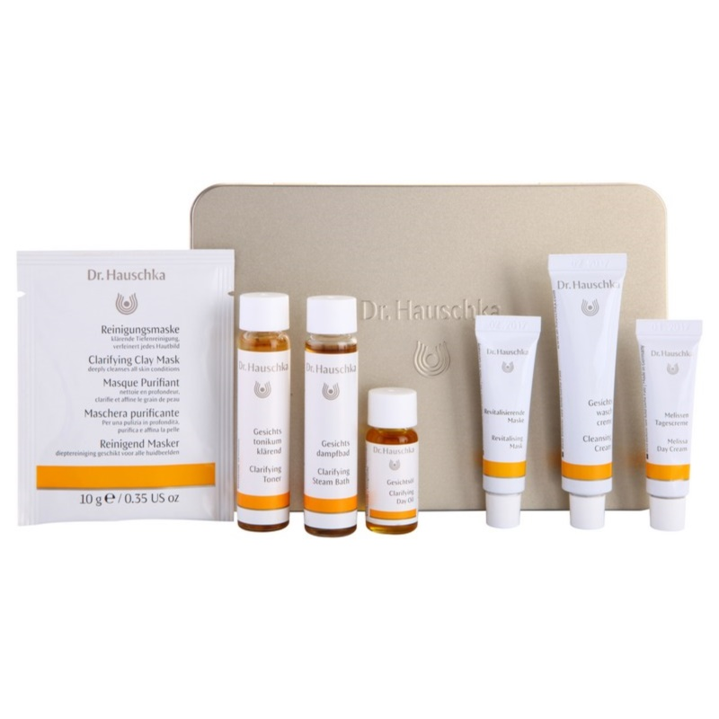 dr hauschka facial care set cosmetice iii. Black Bedroom Furniture Sets. Home Design Ideas