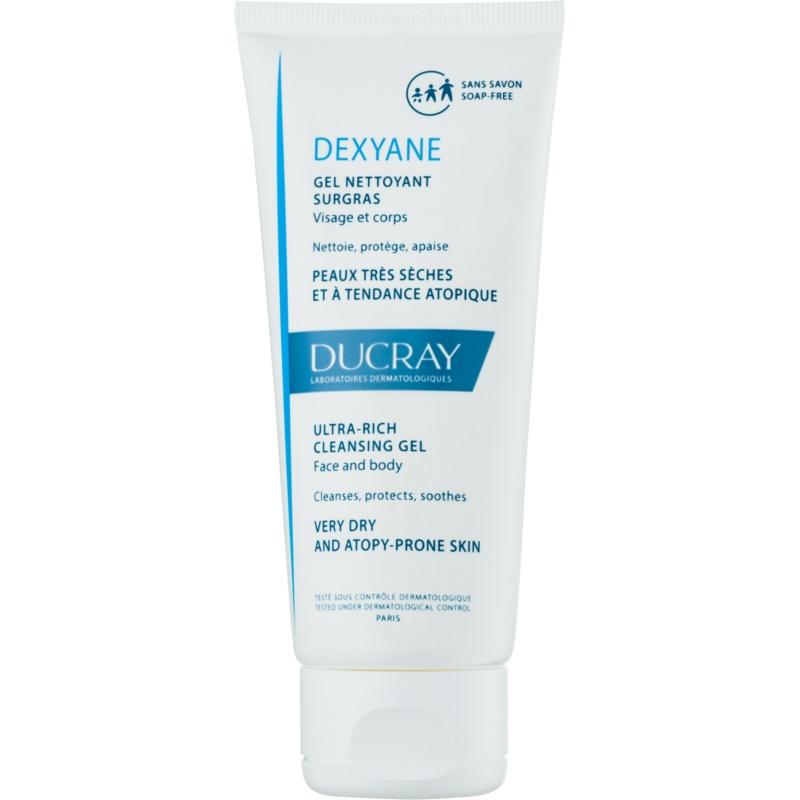 ducray dexyane gel lavant visage et corps pour peaux s ches atopiques. Black Bedroom Furniture Sets. Home Design Ideas