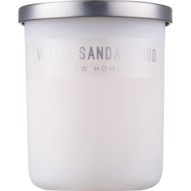 dw home white sandalwood bougie parfum e 107 7 g. Black Bedroom Furniture Sets. Home Design Ideas