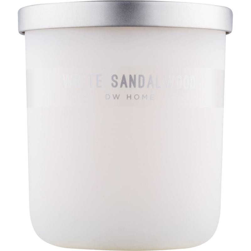 dw home white sandalwood bougie parfum e 425 53 g. Black Bedroom Furniture Sets. Home Design Ideas