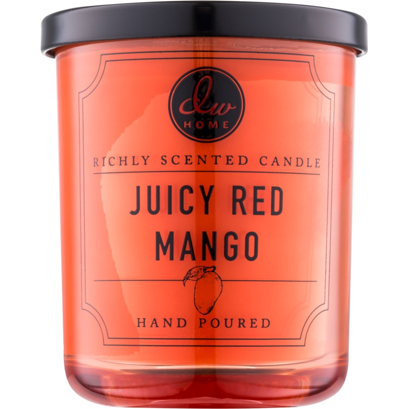 dw home juicy red mango scented candle 113 3 g. Black Bedroom Furniture Sets. Home Design Ideas