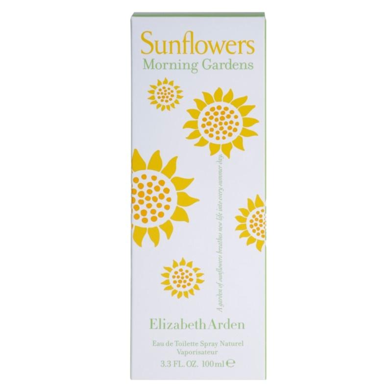 elizabeth arden sunflowers morning garden eau de toilette With katzennetz balkon mit elizabeth garden kosmetik