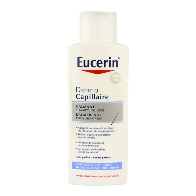 eucerin dermocapillaire shampoing pour cuir chevelu sec avec d mangeaisons. Black Bedroom Furniture Sets. Home Design Ideas