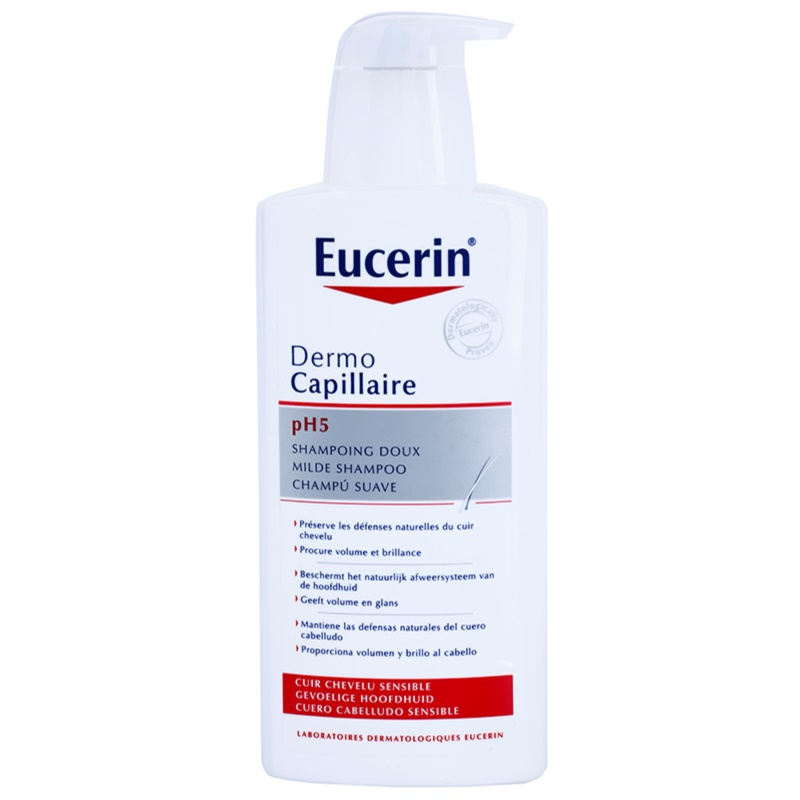 eucerin dermocapillaire ph5 shampoo for sensitive scalp. Black Bedroom Furniture Sets. Home Design Ideas