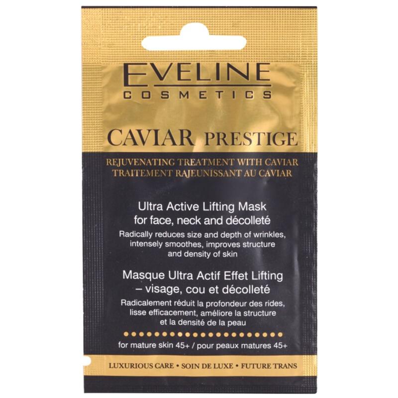 eveline cosmetics caviar prestige 45 gesichtsmaske gegen falten. Black Bedroom Furniture Sets. Home Design Ideas