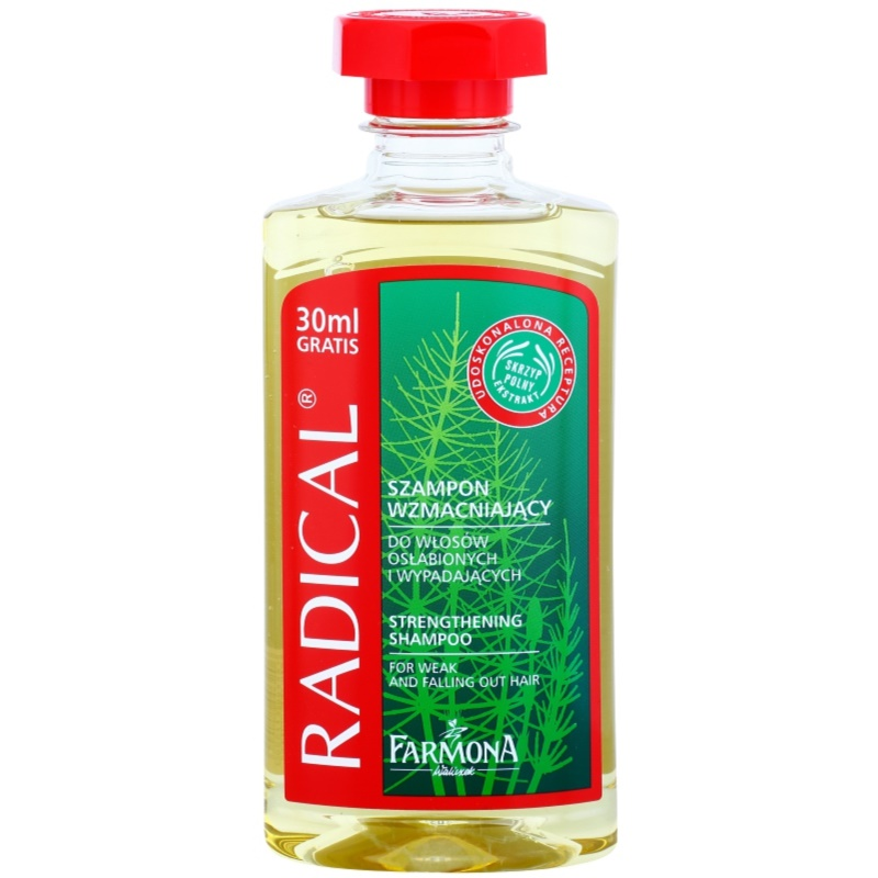 Farmona Radical Hair Loss champô para cabelos fortes 330 ml. champô para  cabelos fortes e254934657b1