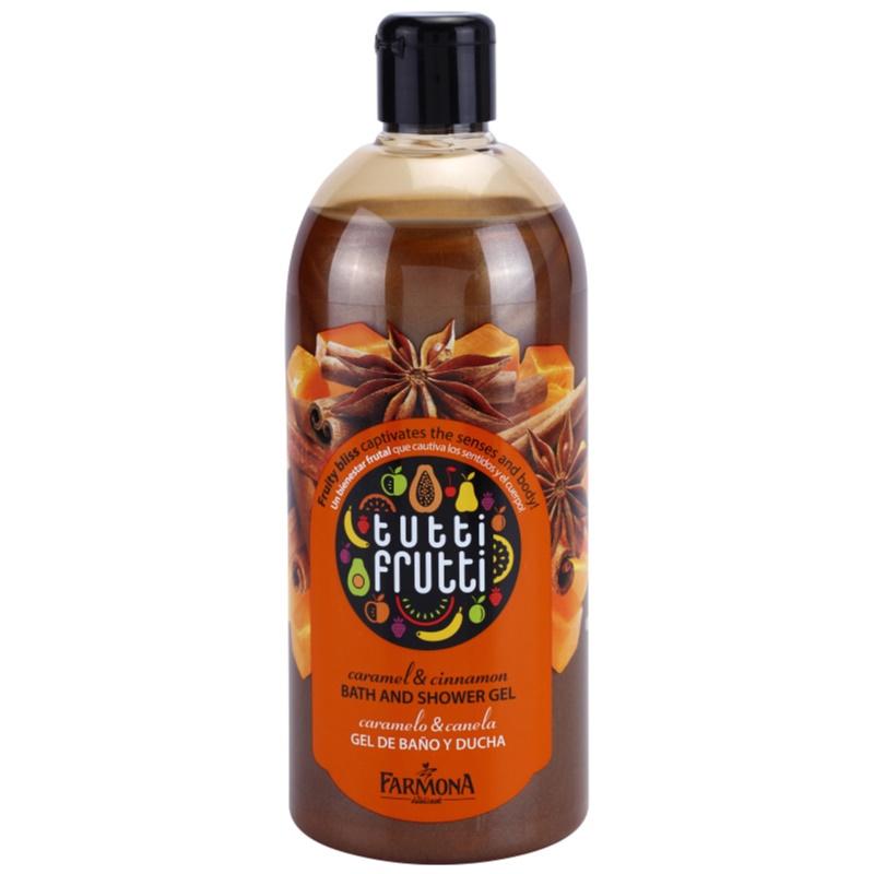 Farmona Tutti Frutti Caramel Cinnamon żel Do Kąpieli I Pod