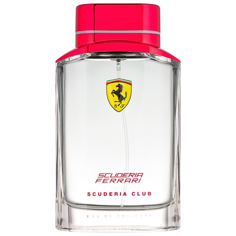 ferrari scuderia club eau de toilette f r herren 125 ml. Black Bedroom Furniture Sets. Home Design Ideas