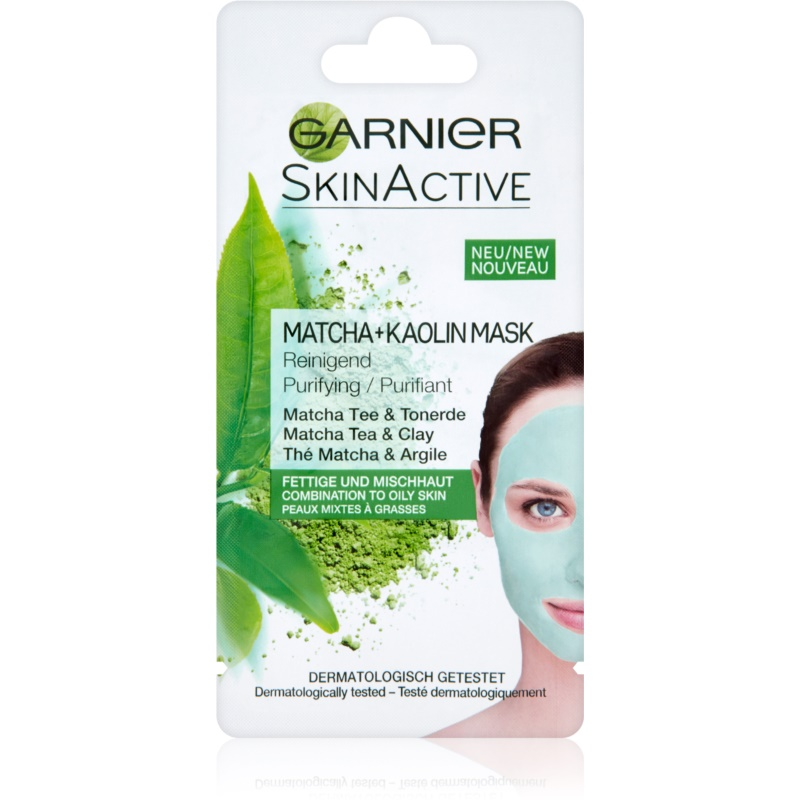 garnier skin active masque visage au kaolin pour peaux mixtes et grasses. Black Bedroom Furniture Sets. Home Design Ideas