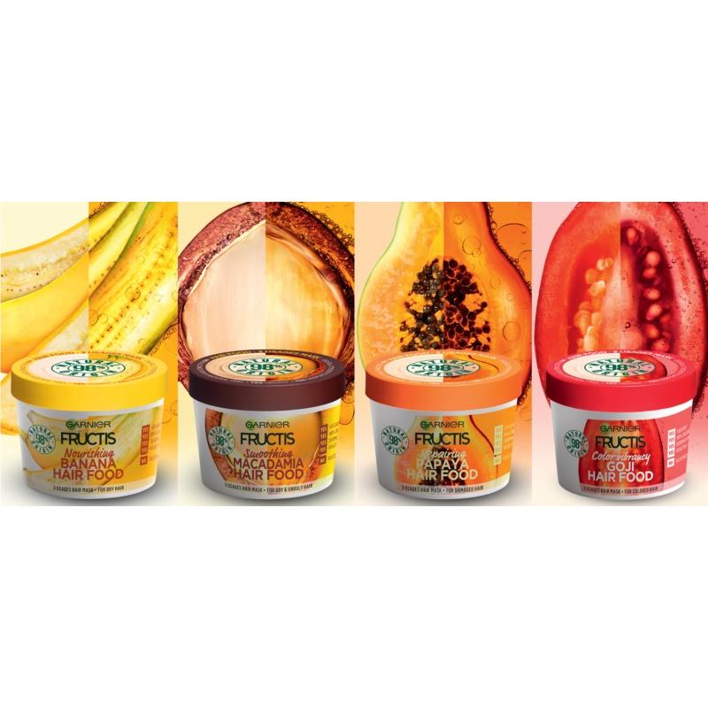 Garnier Fructis Macadamia Hair Food Smoothing Mask For