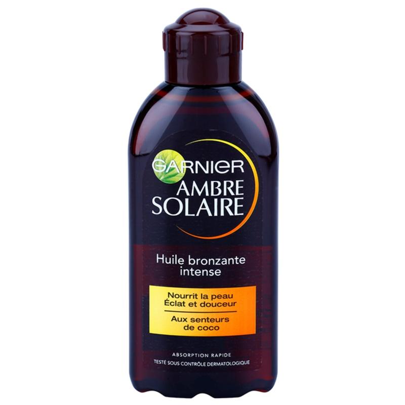 Garnier ambre solaire huile solaire spf 2 - Code avantage aroma zone frais de port ...