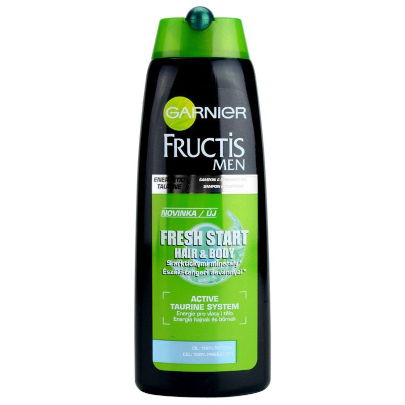 Garnier Fructis Fresh Start Szampon I żel Pod Prysznic 2 W 1