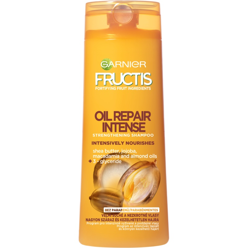 garnier fructis oil repair intense st rkendes shampoo f r. Black Bedroom Furniture Sets. Home Design Ideas