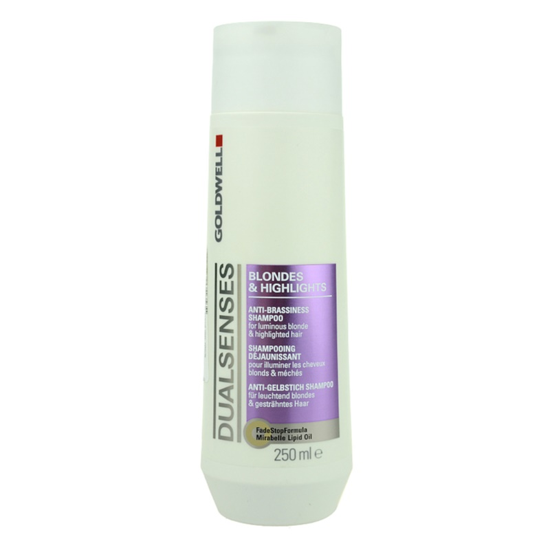 goldwell dualsenses blondes highlights shampoo voor highlighted haar. Black Bedroom Furniture Sets. Home Design Ideas