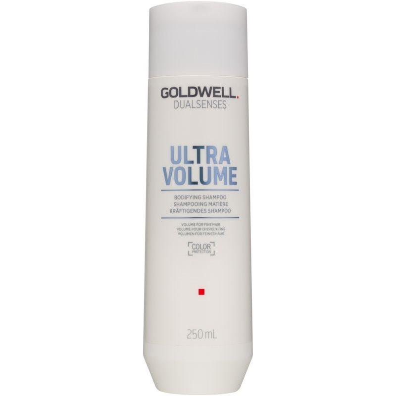 goldwell dualsenses ultra volume shampoing pour donner du volume aux cheveux fins. Black Bedroom Furniture Sets. Home Design Ideas