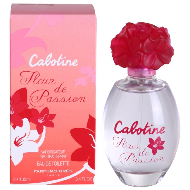 gres cabotine fleur de passion eau de toilette pour femme 100 ml. Black Bedroom Furniture Sets. Home Design Ideas
