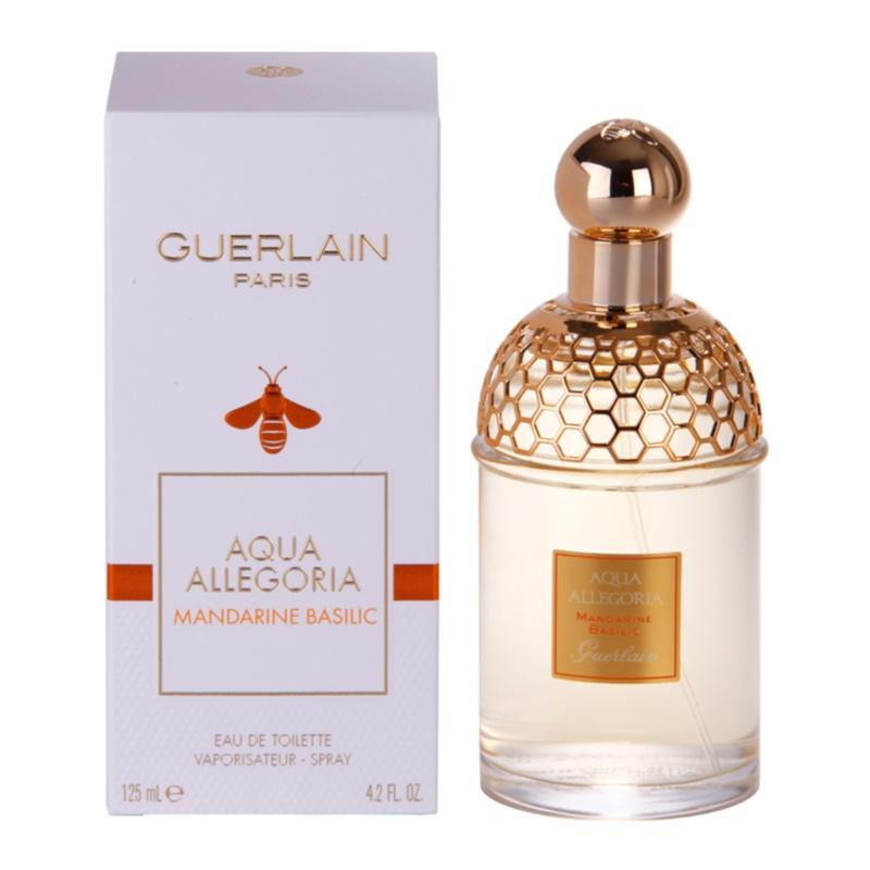 guerlain aqua allegoria mandarine basilic eau de toilette pentru femei 125 ml. Black Bedroom Furniture Sets. Home Design Ideas