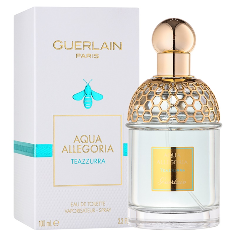 guerlain aqua allegoria teazzurra eau de toilette unisex 100 ml. Black Bedroom Furniture Sets. Home Design Ideas