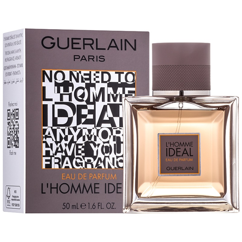 guerlain l 39 homme ideal eau de parfum voor mannen 100 ml. Black Bedroom Furniture Sets. Home Design Ideas