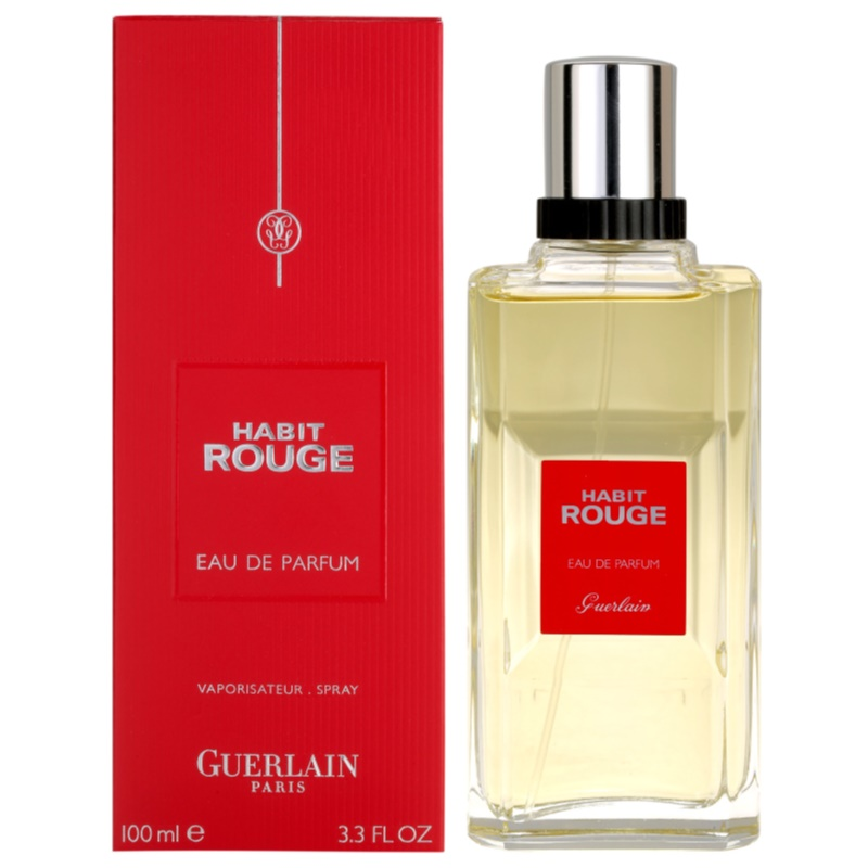 guerlain habit rouge woda perfumowana dla m czyzn 100 ml. Black Bedroom Furniture Sets. Home Design Ideas