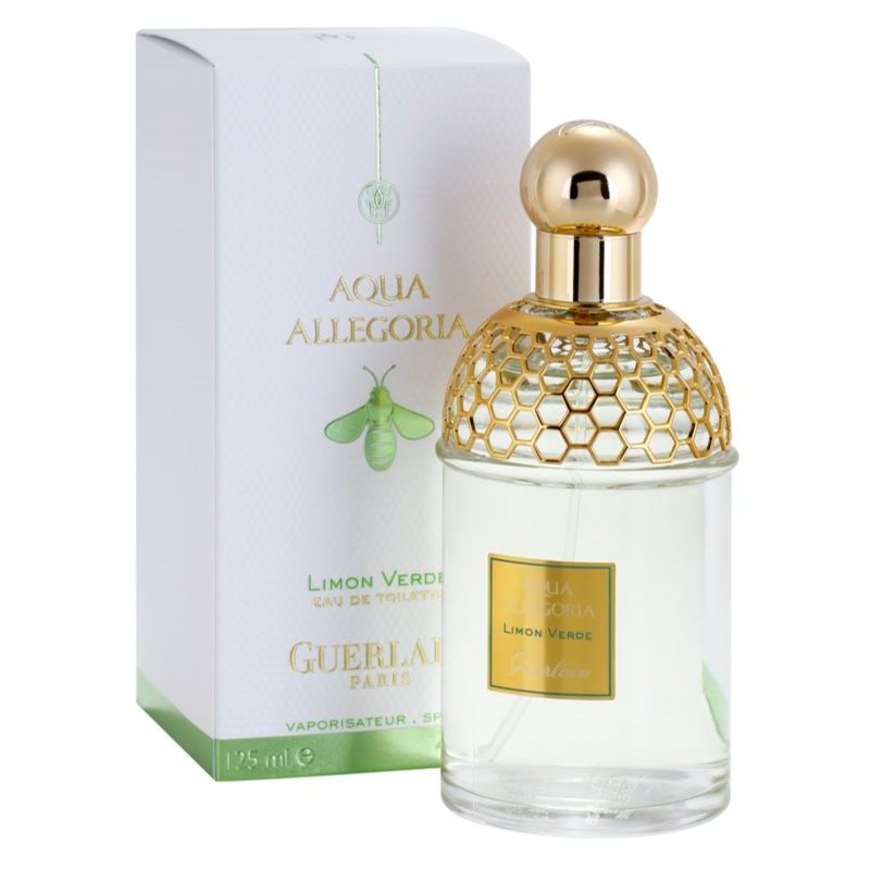 guerlain aqua allegoria limon verde eau de toilette unisex 125 ml. Black Bedroom Furniture Sets. Home Design Ideas