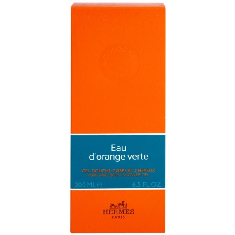 Herm s eau d 39 orange verte gel douche mixte 200 ml pour - Pelure d orange pour parfumer ...