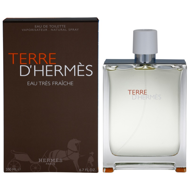 herm s terre d 39 herm s eau tr s fra che eau de toilette pour homme 125 ml. Black Bedroom Furniture Sets. Home Design Ideas