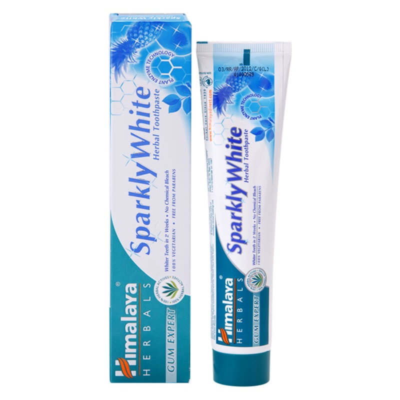 himalaya herbals oral care dentifrice pour des dents clatantes de blancheur. Black Bedroom Furniture Sets. Home Design Ideas