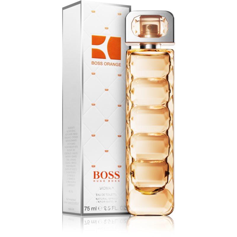 hugo boss orange woman eau de toilette 75 ml. Black Bedroom Furniture Sets. Home Design Ideas